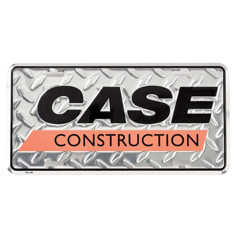 CASE TRACTOR COLLECTOR  ALUMINUM LICENSE PLATE