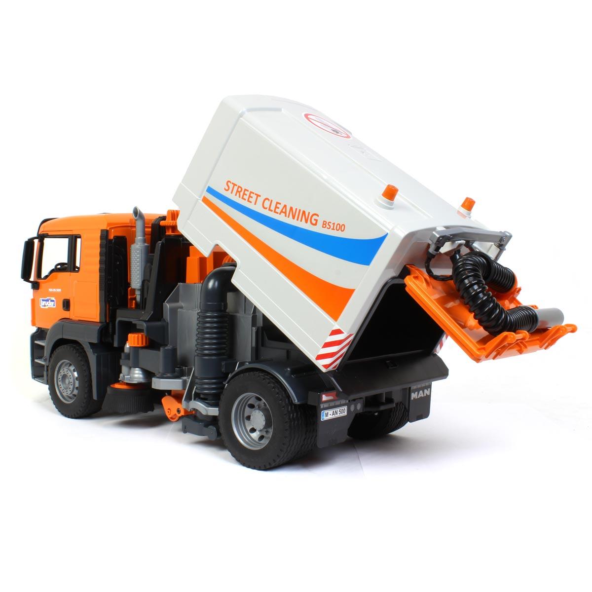 Bruder Road Sweeper échelle 1:16 Jouet en plastique 02583