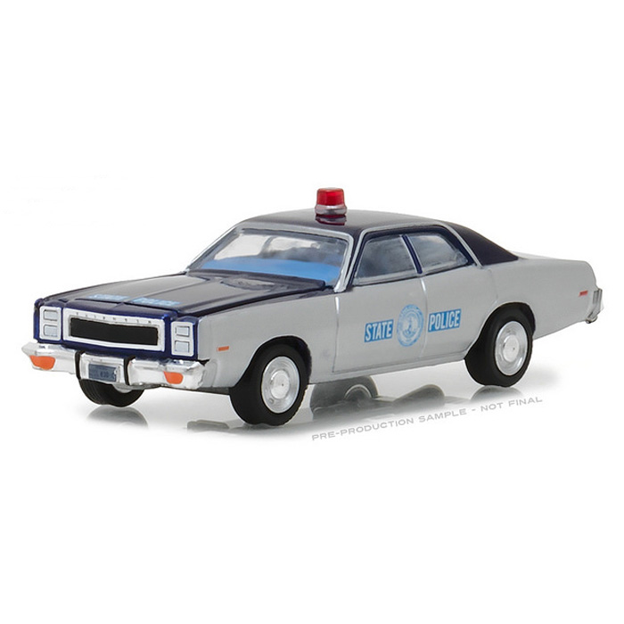 GREENLIGHT 42830 C 1978 PLYMOUTH FURY 1//64 VIRGINIA STATE POLICE CAR Chase