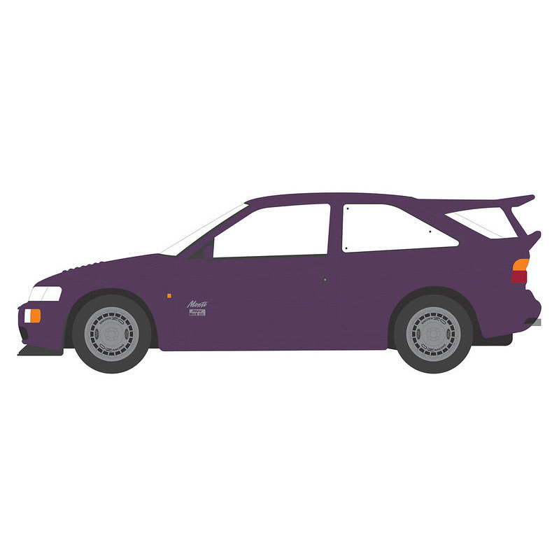 Greenlight 47080-D Hot Hatches 1-1994 Ford Escort RS Cosworth 1:64 Scale