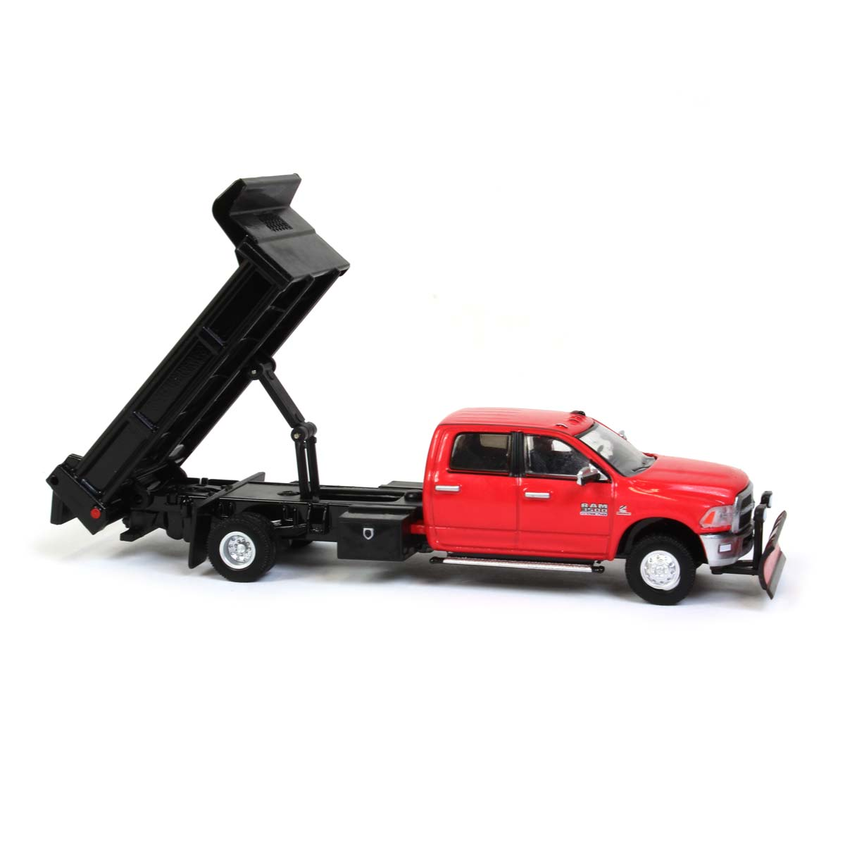 1:64 Greenlight RAM 3500 Dually with Stake Bed Outback Toys Exclusive 51296-A