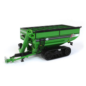 1/64 Green Tracked Grain Cart Front