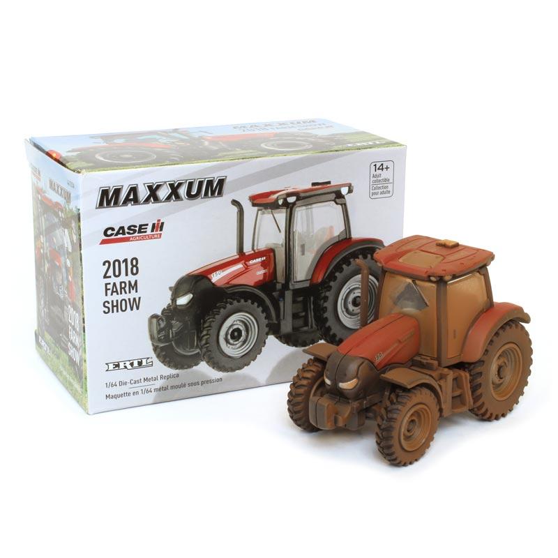 SPECIAL     Case IH 150 Maxxum  2018 Farm Show Edition By Ertl  1//64th Scale  !