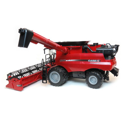 Zfn46491 1 16 Big Farm Case Ih 8240 Combine With Grain Head Outback Toys